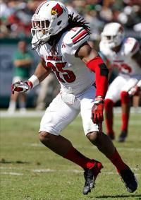 Louisville Cardinals safety Calvin Pryor (25). Kim Klement-USA TODAY Sports