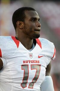 Rutgers Scarlet Knights wide receiver Brandon Coleman (17). Jamie Rhodes-USA TODAY Sports