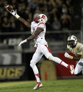 Rutgers Scarlet Knights wide receiver Brandon Coleman (17. John Munson/THE STAR-LEDGER via USA TODAY Sports