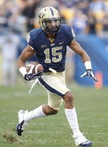 Pittsburgh Panthers wide receiver Devin Street (15). Charles LeClaire-USA TODAY Sports