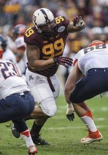 Minnesota Golden Gophers defensive lineman Ra'Shede Hageman (99). Troy Taormina-USA TODAY Sports