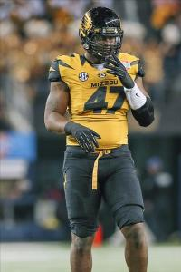 Missouri Tigers defensive lineman Kony Ealy (47). Kevin Jairaj-USA TODAY Sports