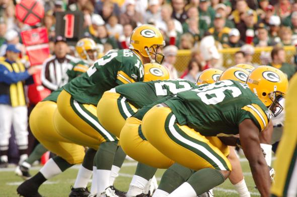 The Green Bay Packers were led to the promised land by Aaron Rodgers. Raymond T. Rivard photograph