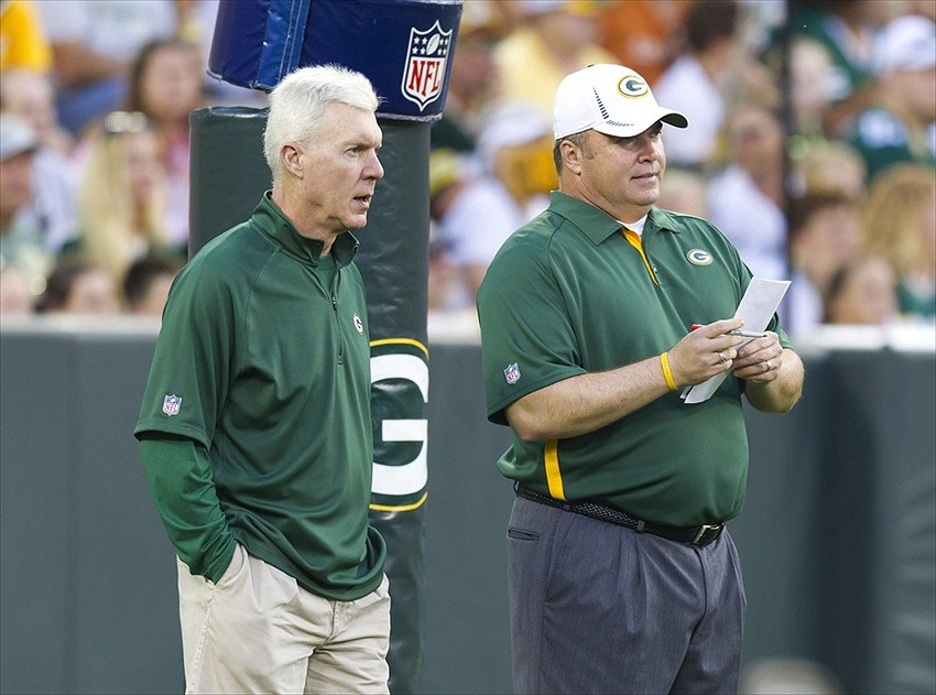 Green Bay Packers general manager Ted Thompson and head coach Mike McCarthy continue to reshape the Packers roster this offseason. Jeff Hanisch-USA TODAY Sports photograph