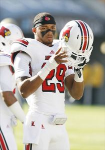 Louisville Cardinals safety Hakeem Smith (29). Charles LeClaire-USA TODAY Sports