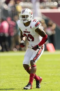 Louisville Cardinals safety Hakeem Smith (29). Howard Smith-USA TODAY Sports
