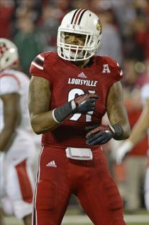 Louisville Cardinals defensive end Marcus Smith (91). Jamie Rhodes-USA TODAY Sports
