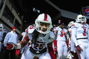 Louisville Cardinals safety Calvin Pryor Andrew Weber-USA TODAY Sports photograph