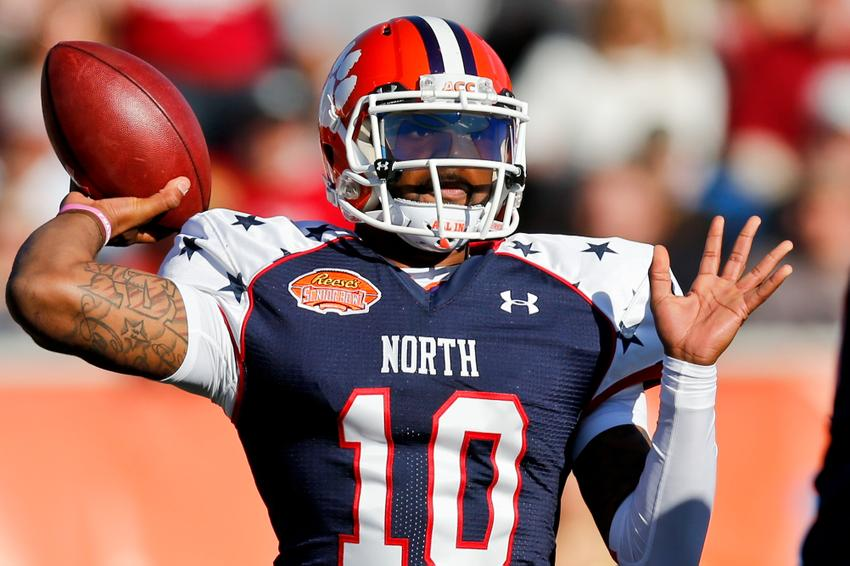 Quarterback Tajh Boyd of Clemson (10) Derick E. Hingle-USA TODAY Sports