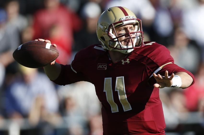 Boston College Eagles quarterback Chase Rettig Greg M. Cooper-USA TODAY Sports photograph