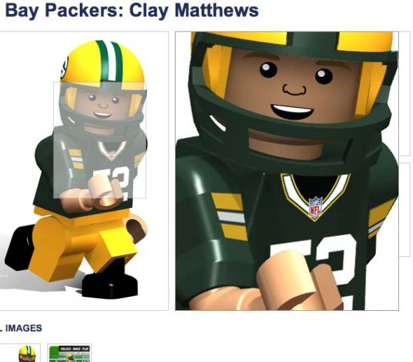 The last time I looked, Clay Matthews was a white man ...