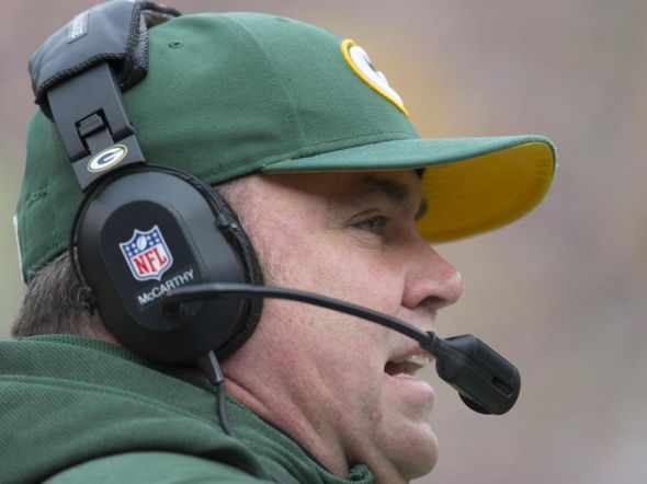 Green Bay Packers head coach Mike McCarthy Jeff Hanisch-USA TODAY Sports