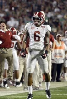 Jan 7, 2013; Miami, FL, USA; Alabama Crimson Tide defensive back Ha