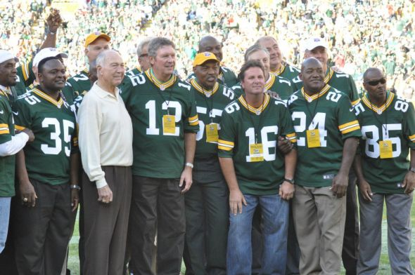 Bart Starr had a pretty good team in 1982, but not good enough to win a title. Raymond T. Rivard photograph