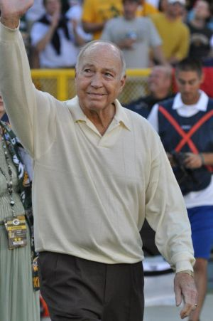 Bart Starr was a coach much admired by Ezra Johnson. Raymond T. Rivard photograph