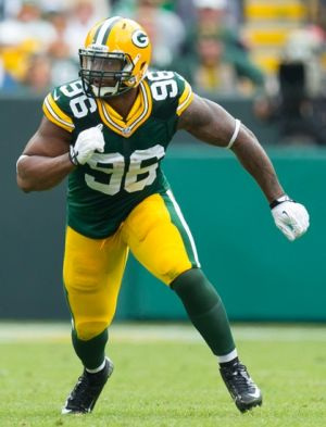 Green Bay Packers defensive end Mike Neal (96). Jeff Hanisch-USA TODAY Sports