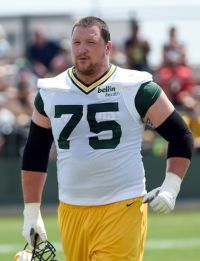Green Bay Packers player Bryan Bulaga. Benny Sieu-USA TODAY Sports