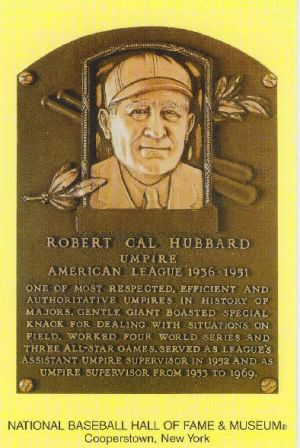 Cal Hubbard was elected to both the Pro Football and MLB halls of fame.