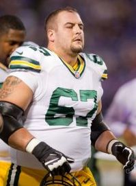 Green Bay Packers guard Don Barclay (67). Bruce Kluckhohn-USA TODAY Sports