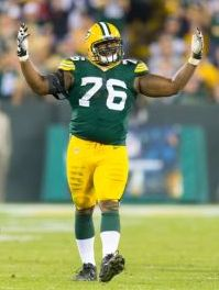 Green Bay Packers defensive end Mike Daniels (76). Jeff Hanisch-USA TODAY Sports