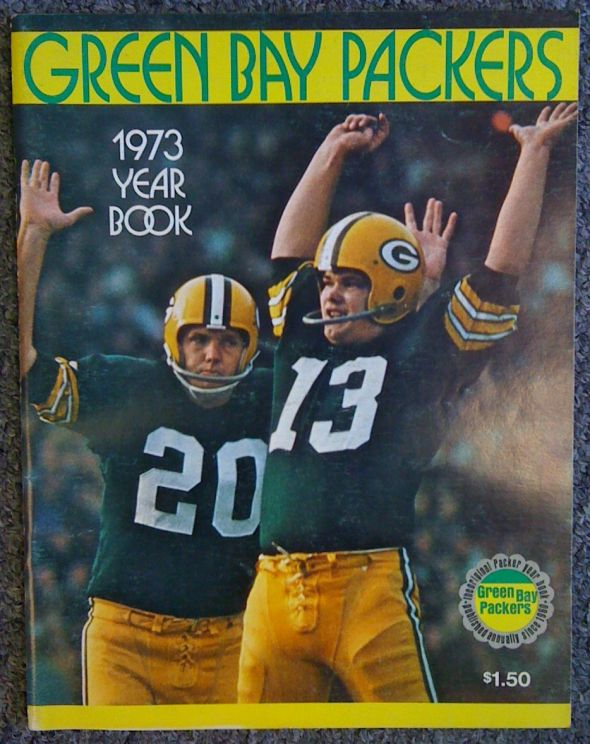 18969 - 1973 Packers Yearbook