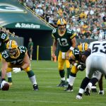 Aaron Rodgers … at the top of his game. Jim Oxley photograph