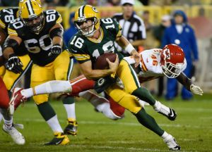 Quarterback Scott Tolzien will be one of three quarterbacks on the Packers roster. Benny Sieu-USA TODAY Sports photograph