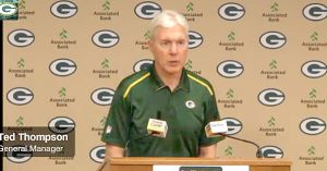 Ted Thompson at this morning's press conference