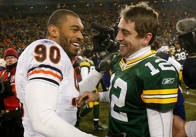John Kuhn S Block On Julius Peppers Probably Cost Him