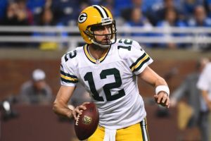 Green Bay Packers quarterback Aaron Rodgers. Tim Fuller-USA TODAY Sports