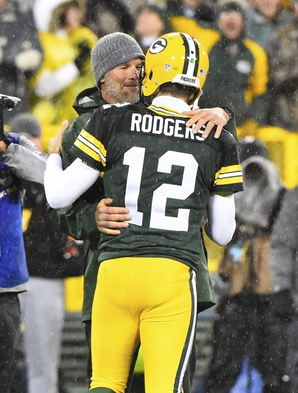 Brett Favre Aaron Rodgers Nfl Chicago Bears Green Bay Packers Decisions Week
