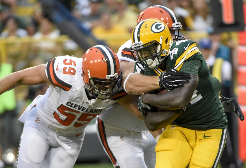 Without Rodgers, Packers edge Browns 17-11