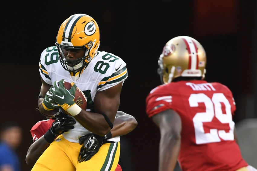 Green Bay Packers tight end Jared Cook. Kyle Terada-USA TODAY Sports