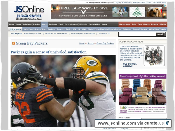 Clipped from http://www.jsonline.com/sports/packers/packers-gain-a-sense-of-unrivaled-satisfaction-ii822a3-183737531.html