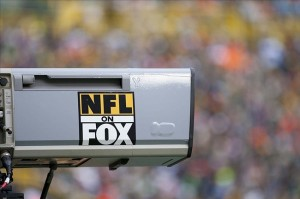 Nov 20, 2011; Green Bay, WI, USA; NFL on FOX logo during the game between the Tampa Bay Buccaneers and Green Bay Packers at Lambeau Field.  The Packers defeated the Buccaneers 35-26.  Mandatory Credit: Jeff Hanisch-US PRESSWIRE