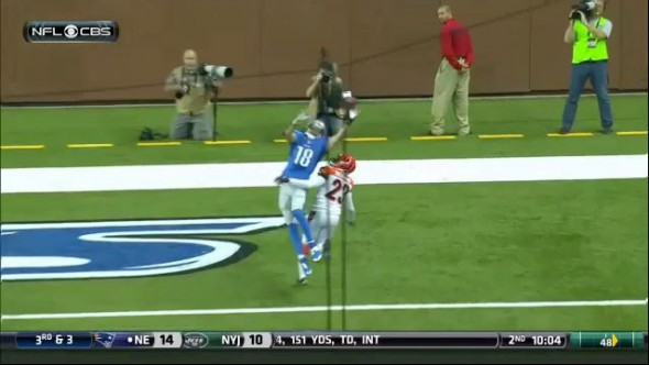 Matthew Stafford to Kris Durham 3