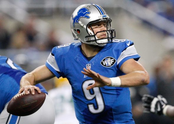 Detroit Lions QB Matthew Stafford. Mandatory Credit: Raj Mehta-USA TODAY Sports