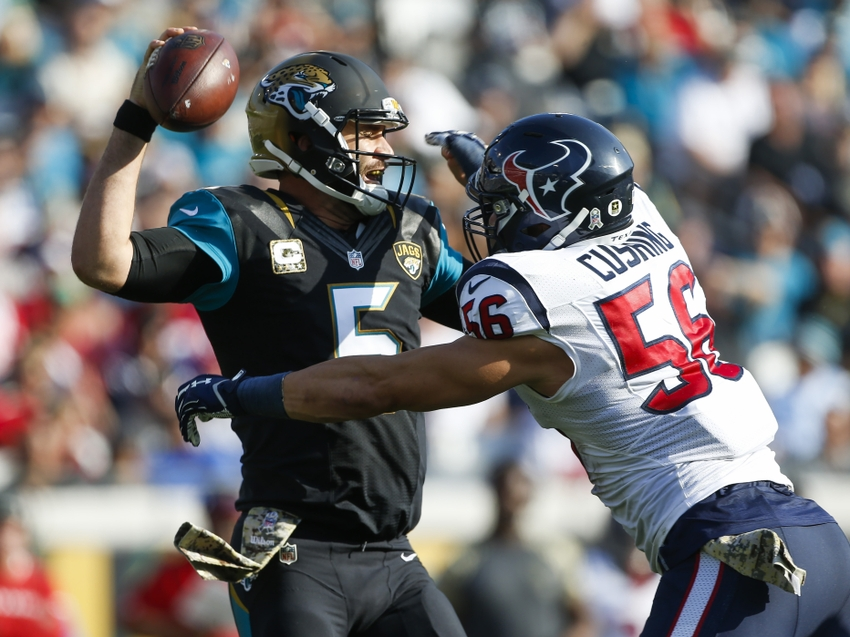 Jaguars can set dubious NFL mark for games without takeaway