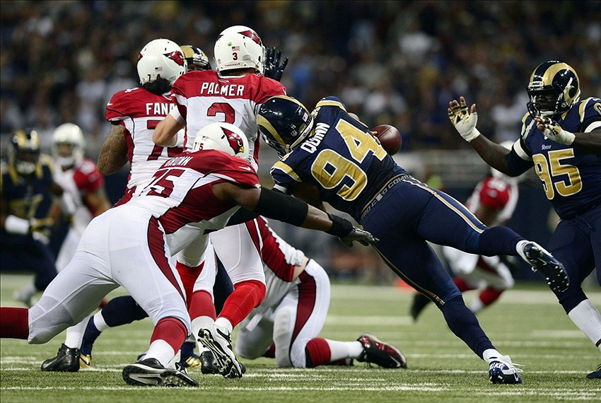 NFL: Arizona Cardinals at St. Louis Rams
