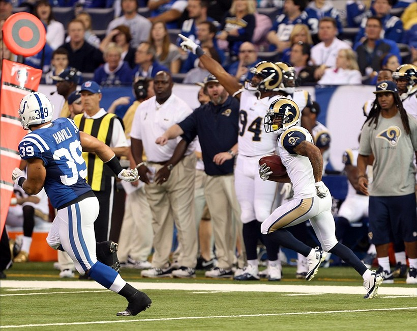 NFL: St. Louis Rams at Indianapolis Colts