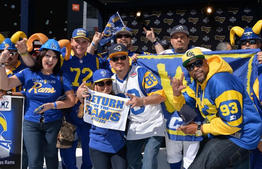 Nike NFL Youth Jerseys - Rams Fans Are Excited To See Their Team Back In Los Angeles