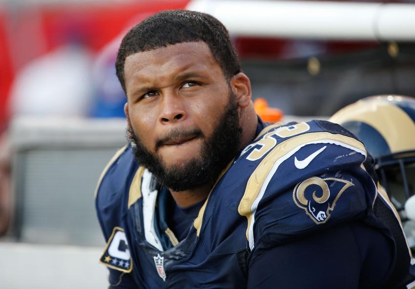 Los Angeles Rams Aaron Donald Key Against Detroit Lions