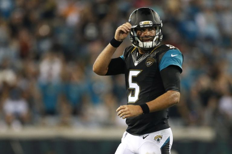 jacksonville jaguars qb blake bortles 39 we played pretty bad 39. Cars Review. Best American Auto & Cars Review