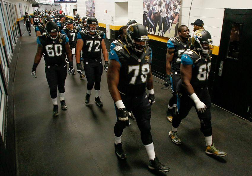 Jaguars Locker Room After Detroit Game