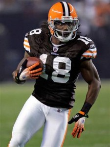 Donte Stallworth will probably never play again for the Browns, but at least he was remorseful.