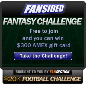 Join the FanSided Fantasy Challenge!
