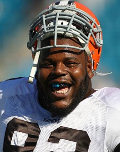The loss of Big Baby is about to leave a big hole in the middle of the Browns' defensive line.