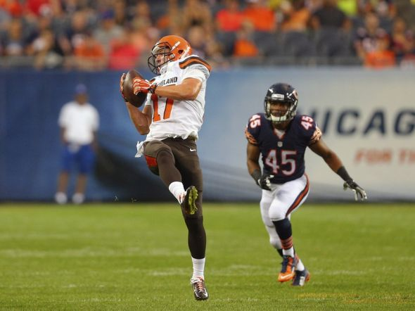 Cleveland browns wrs a tough group to get a handle on for Josh lenz