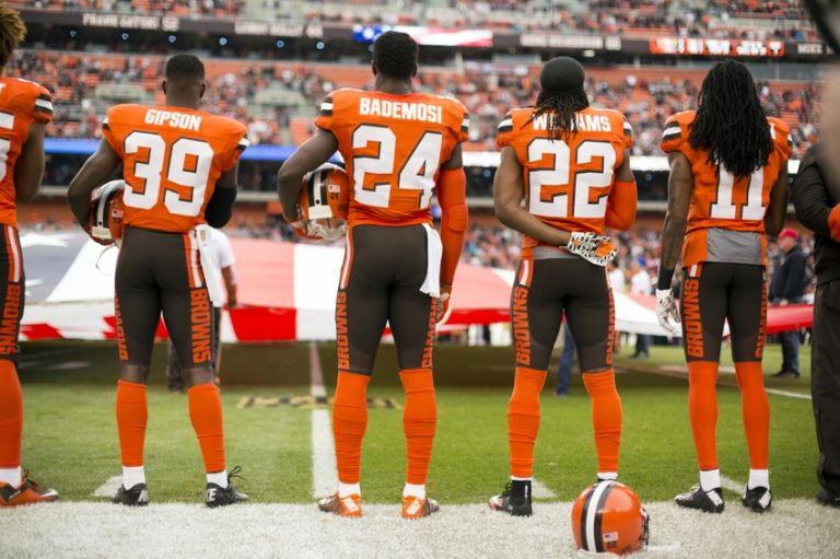 Johnson-bademosi-travis-benjamin-tramon-williams-tashaun-gipson-nfl-san-francisco-49ers-cleveland-browns-768x0