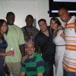 Correll Buckhalter, Lito Sheppard, and Hank Baskett with Chio and the Morning Show (http://gnkang.com/)